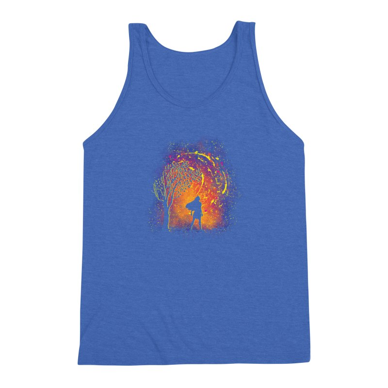 Colours Of The Wind Men's Triblend Tank by Daletheskater