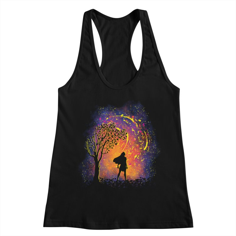 Colours Of The Wind Women's Racerback Tank by Daletheskater
