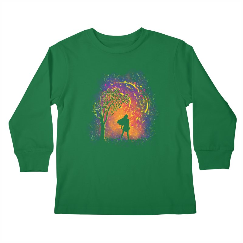 Colours Of The Wind Kids Longsleeve T-Shirt by Daletheskater