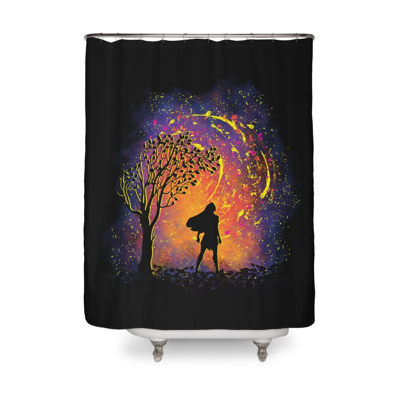 Colours Of The Wind Home Shower Curtain by Daletheskater