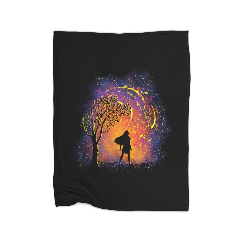 Colours Of The Wind Home Fleece Blanket Blanket by Daletheskater