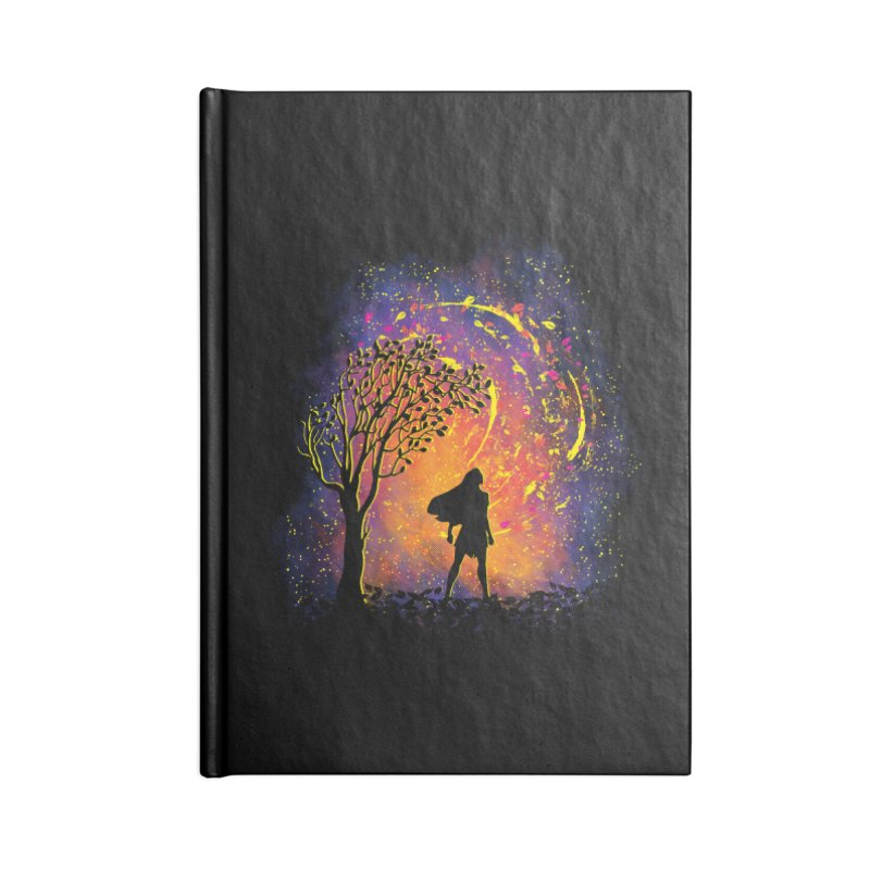 Colours Of The Wind Accessories Lined Journal Notebook by Daletheskater