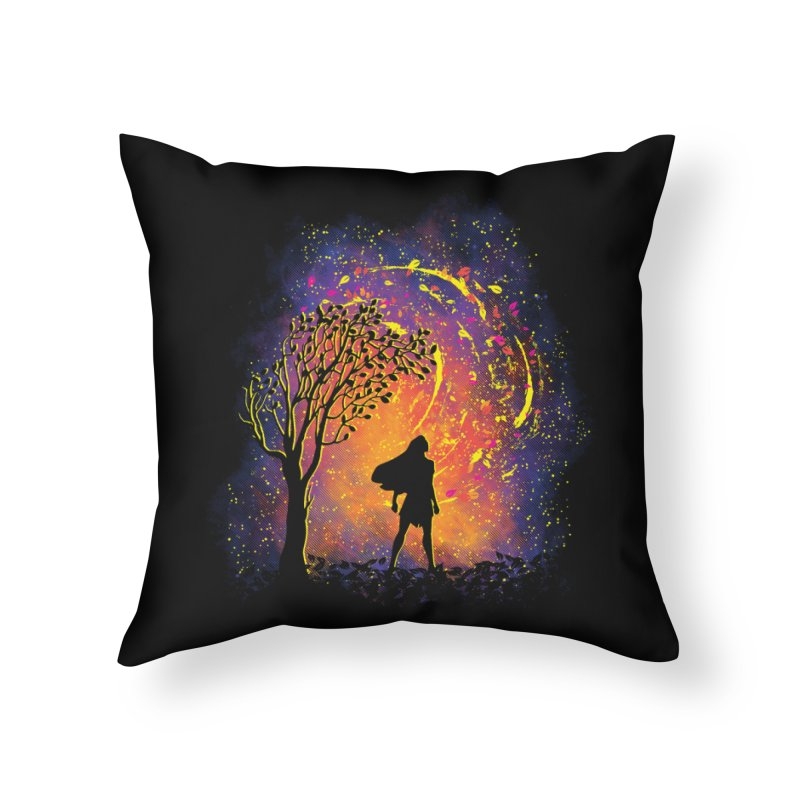 Colours Of The Wind Home Throw Pillow by Daletheskater
