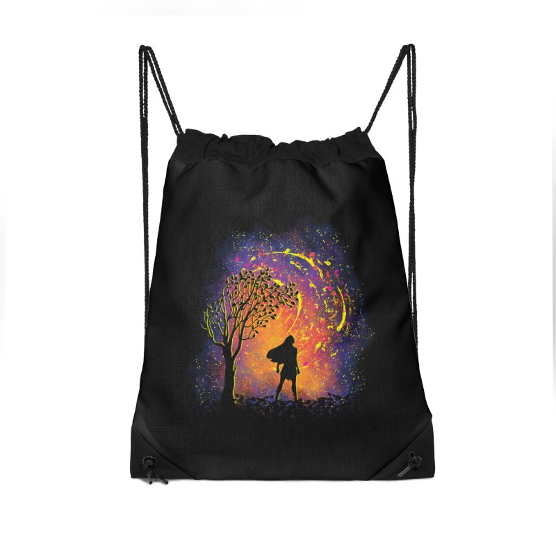Colours Of The Wind Accessories Drawstring Bag Bag by Daletheskater