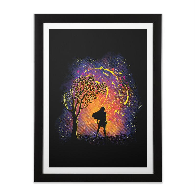 Colours Of The Wind Home Framed Fine Art Print by Daletheskater