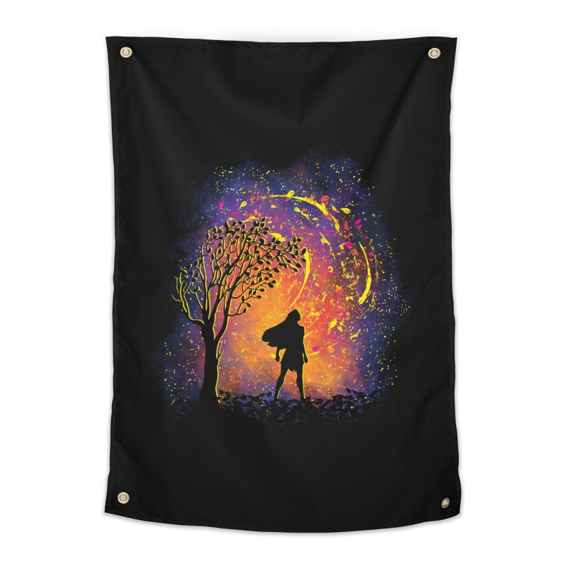 Colours Of The Wind Home Tapestry by Daletheskater