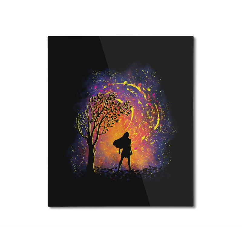 Colours Of The Wind Home Mounted Aluminum Print by Daletheskater