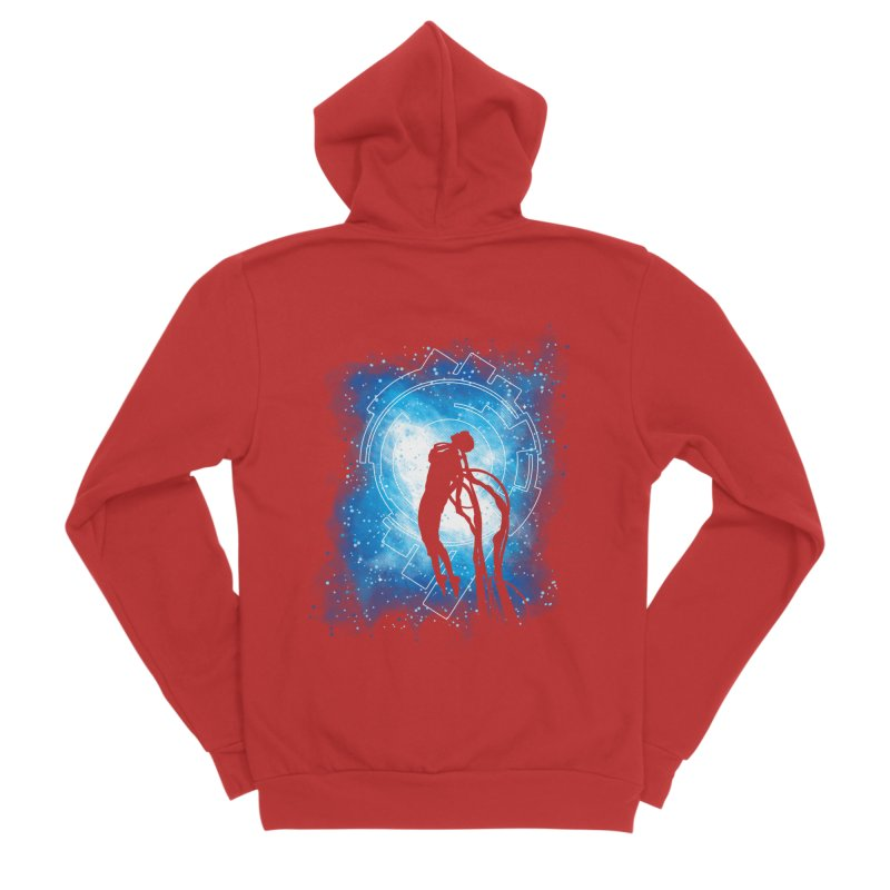 Cyborg Transformation Men's Zip-Up Hoody by Daletheskater