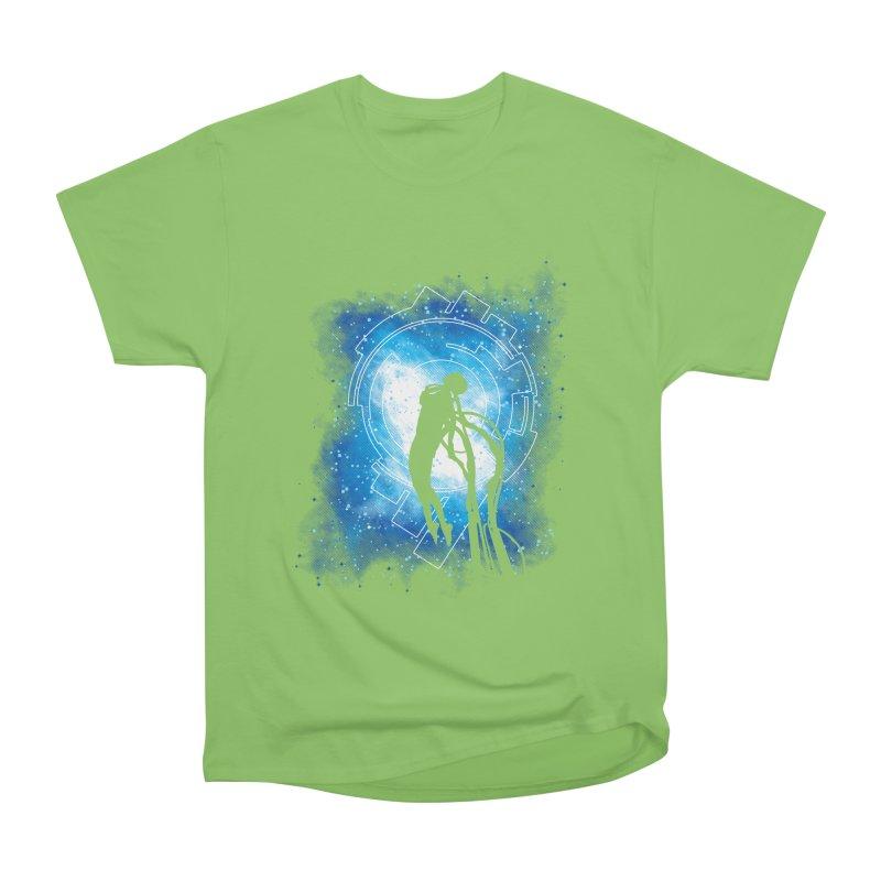 Cyborg Transformation Women's Heavyweight Unisex T-Shirt by Daletheskater