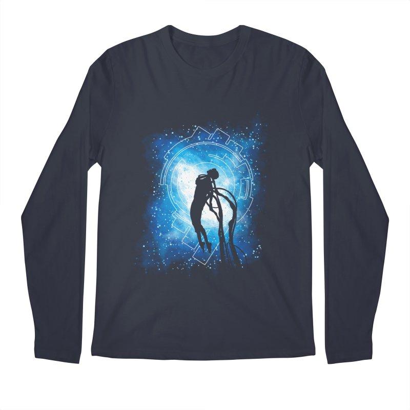Cyborg Transformation Men's Regular Longsleeve T-Shirt by Daletheskater