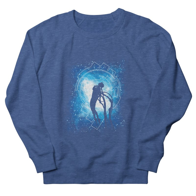 Cyborg Transformation Men's French Terry Sweatshirt by Daletheskater