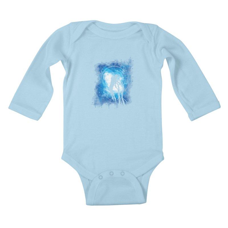 Cyborg Transformation Kids Baby Longsleeve Bodysuit by Daletheskater