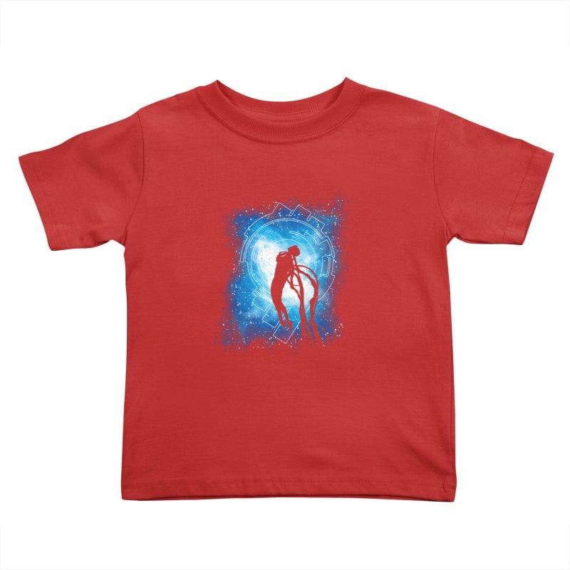 Cyborg Transformation Kids Toddler T-Shirt by Daletheskater
