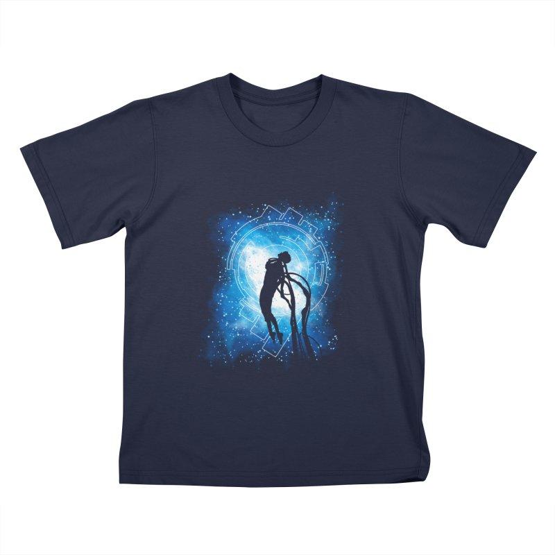 Cyborg Transformation Kids T-Shirt by Daletheskater