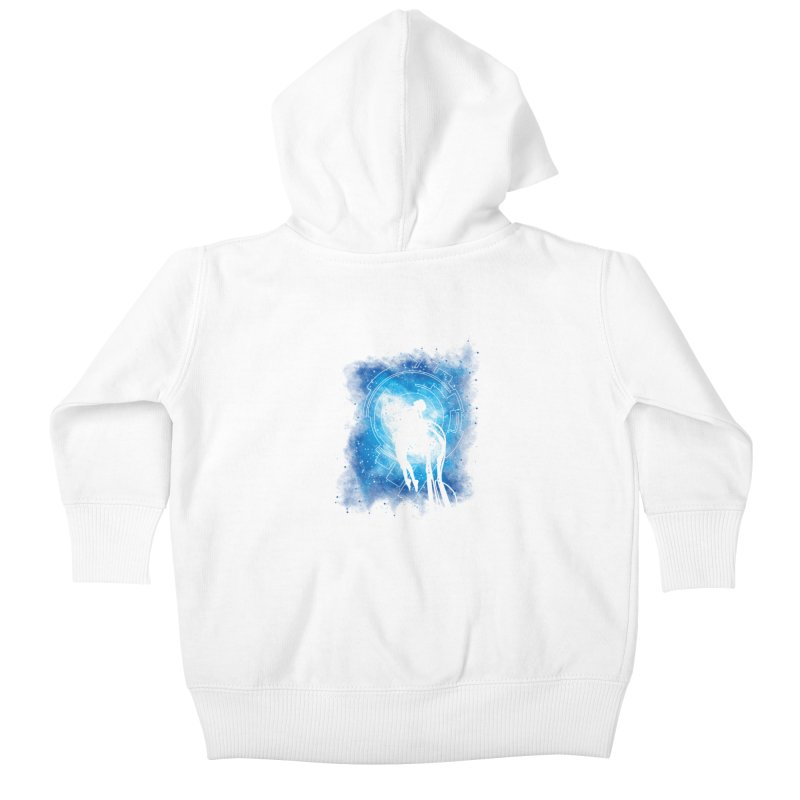 Cyborg Transformation Kids Baby Zip-Up Hoody by Daletheskater