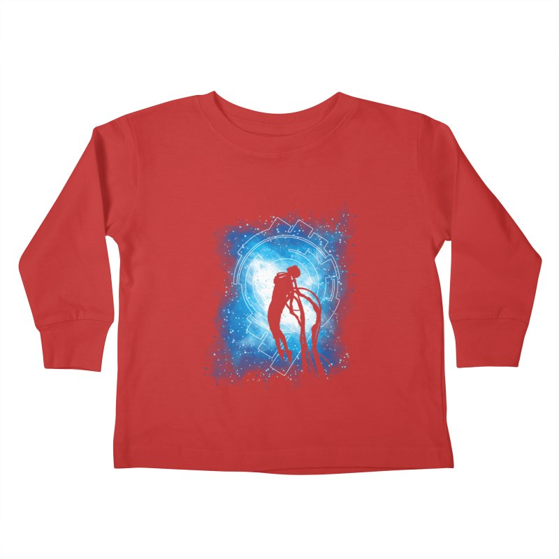 Cyborg Transformation Kids Toddler Longsleeve T-Shirt by Daletheskater