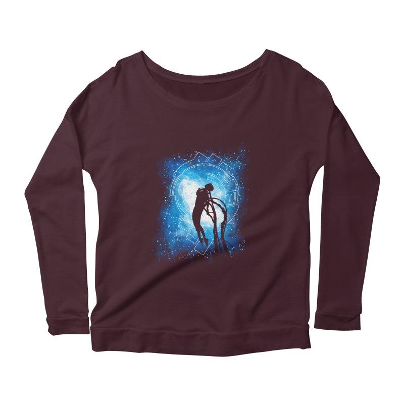 Cyborg Transformation Women's Scoop Neck Longsleeve T-Shirt by Daletheskater