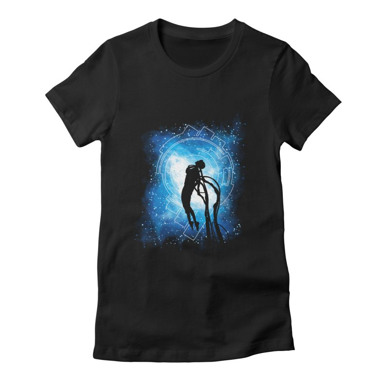 Cyborg Transformation Women's Fitted T-Shirt by Daletheskater