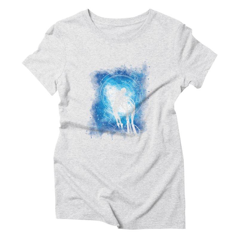 Cyborg Transformation Women's Triblend T-Shirt by Daletheskater