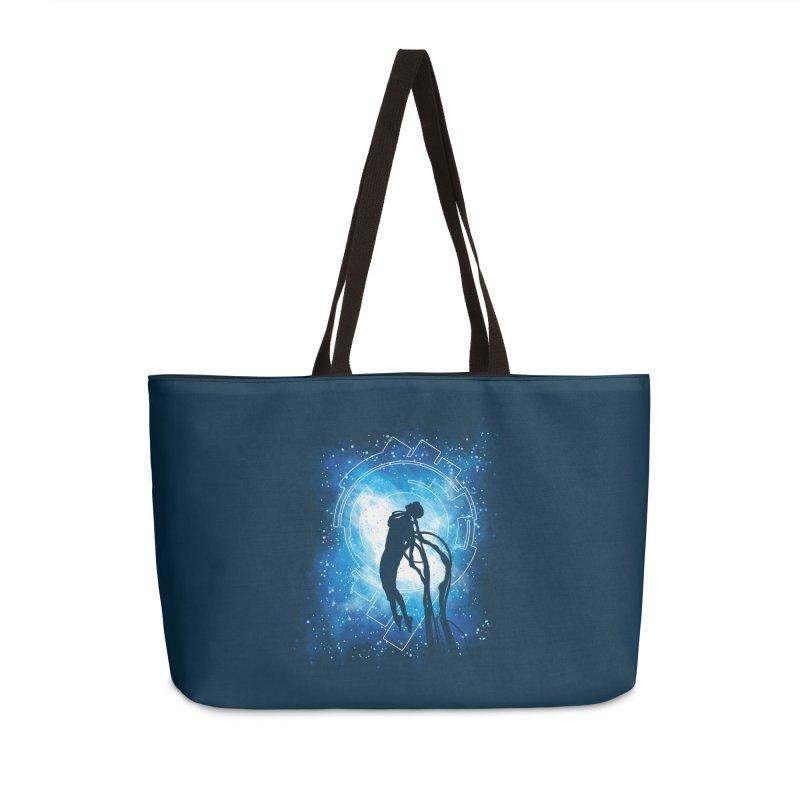 Cyborg Transformation Accessories Weekender Bag Bag by Daletheskater