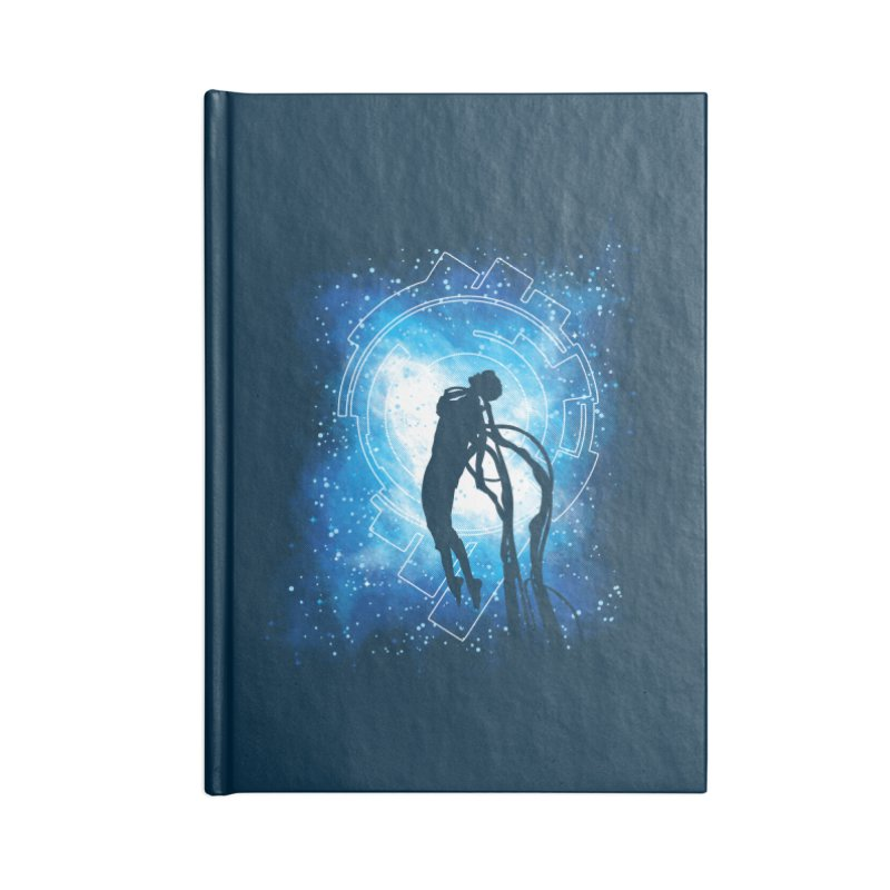 Cyborg Transformation Accessories Lined Journal Notebook by Daletheskater