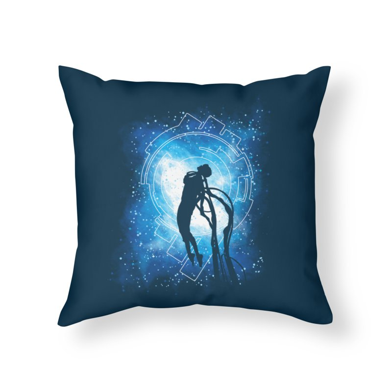 Cyborg Transformation Home Throw Pillow by Daletheskater