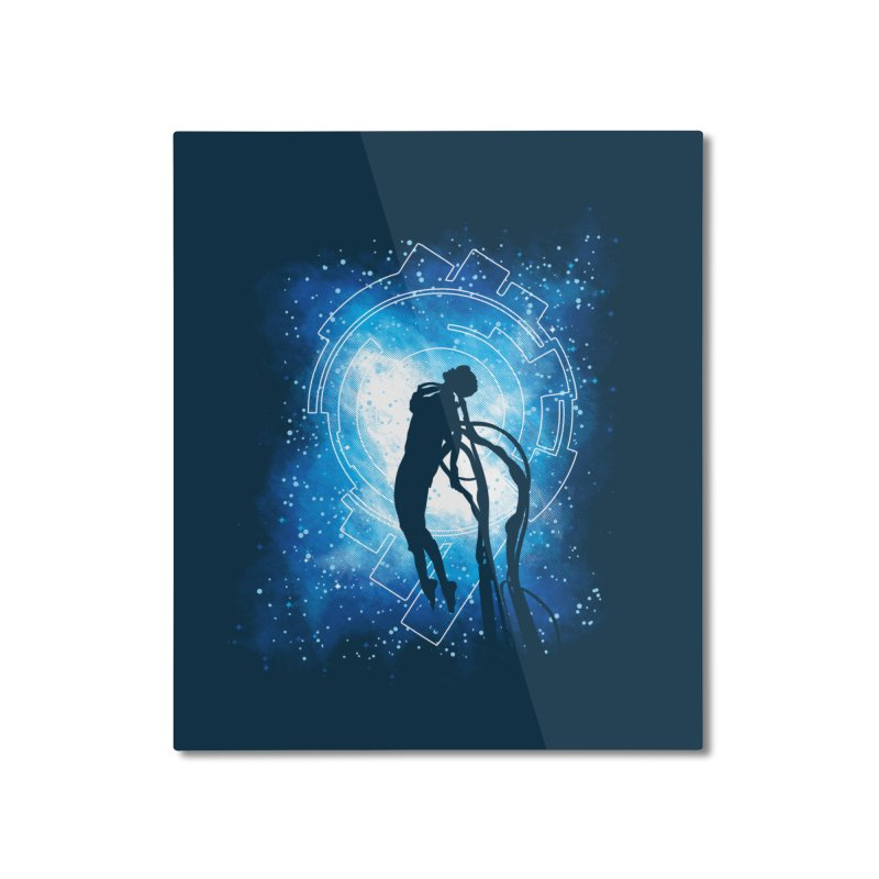 Cyborg Transformation Home Mounted Aluminum Print by Daletheskater
