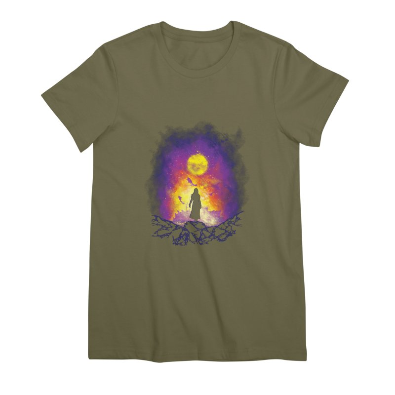 Born Of Fire Women's Premium T-Shirt by Daletheskater