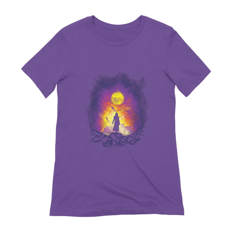 Born Of Fire Women's Extra Soft T-Shirt by Daletheskater
