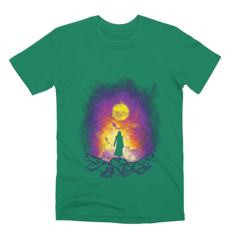 Born Of Fire Men's Premium T-Shirt by Daletheskater