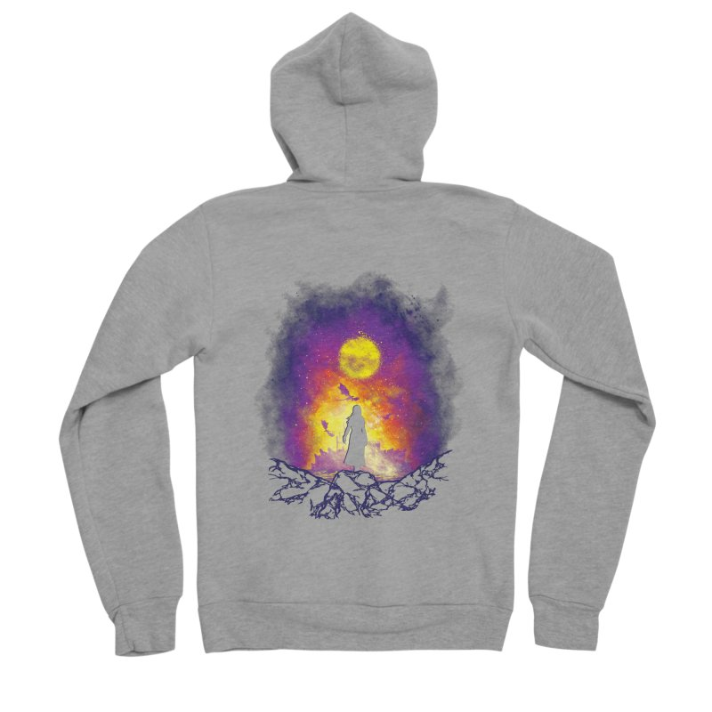 Born Of Fire Women's Sponge Fleece Zip-Up Hoody by Daletheskater