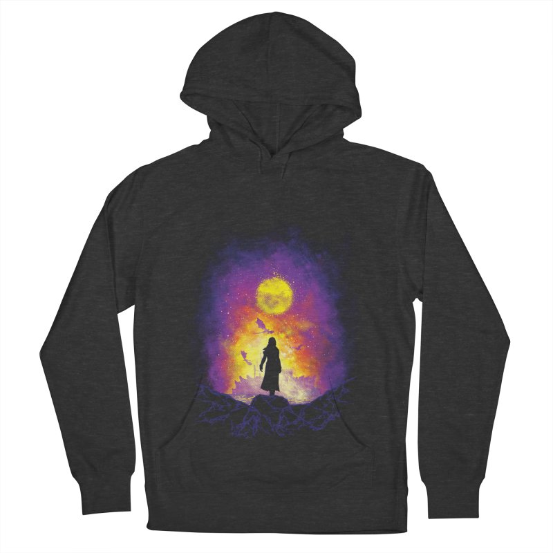 Born Of Fire Men's French Terry Pullover Hoody by Daletheskater