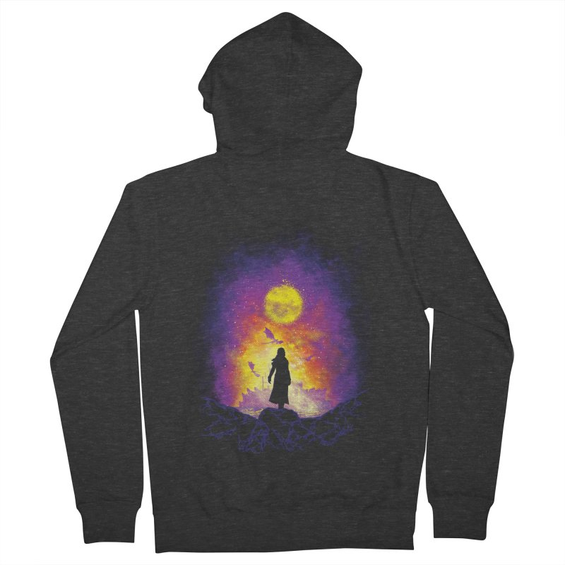 Born Of Fire Women's French Terry Zip-Up Hoody by Daletheskater