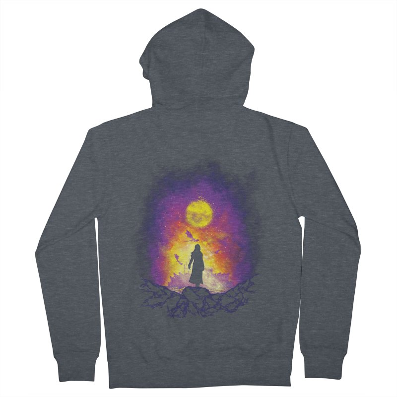 Born Of Fire Men's French Terry Zip-Up Hoody by Daletheskater