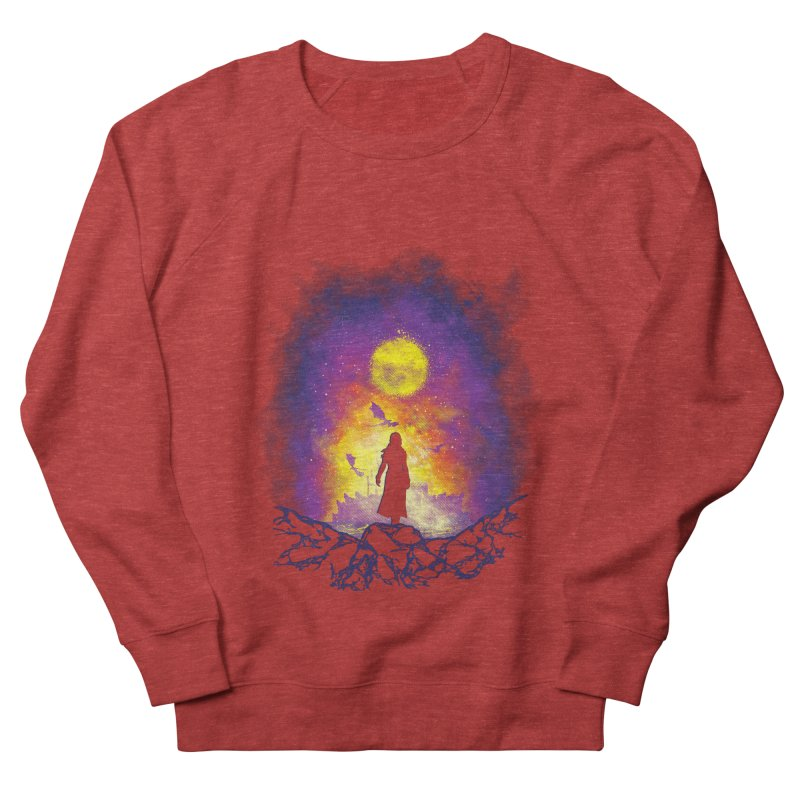 Born Of Fire Women's French Terry Sweatshirt by Daletheskater