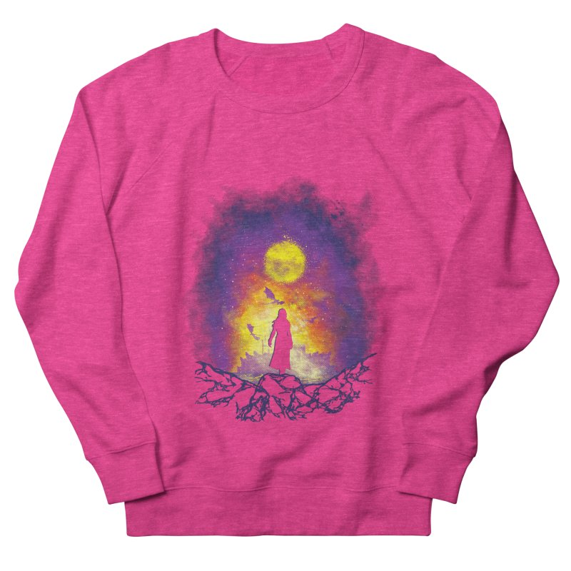 Born Of Fire Men's French Terry Sweatshirt by Daletheskater