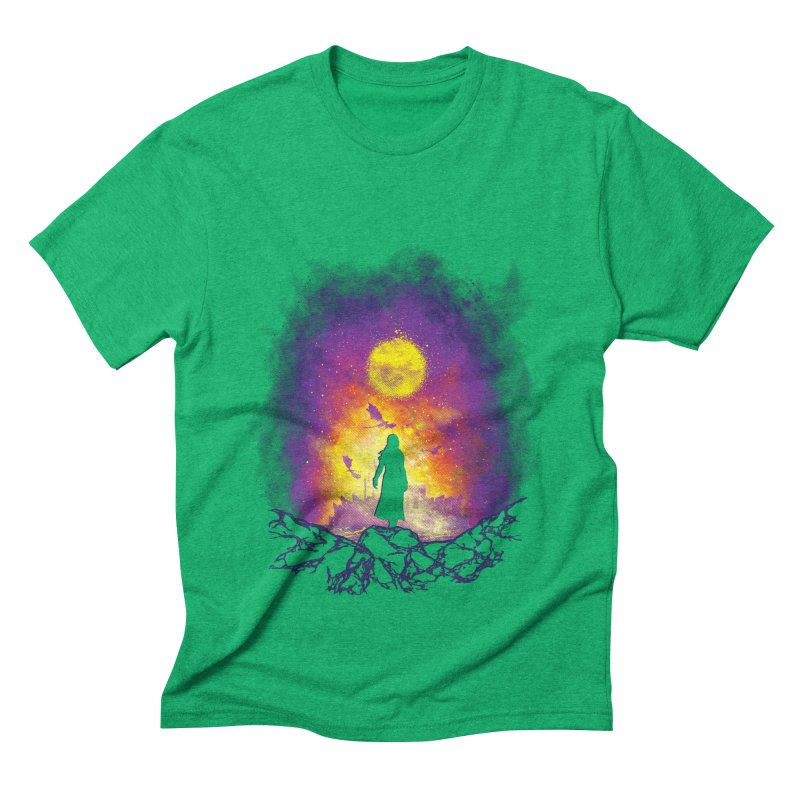Born Of Fire Men's Triblend T-Shirt by Daletheskater