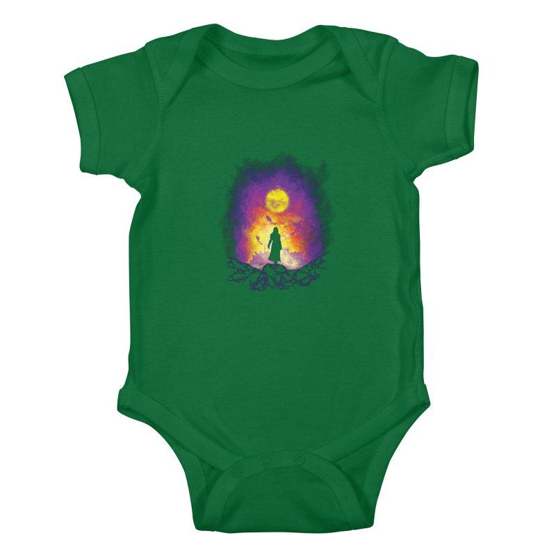 Born Of Fire Kids Baby Bodysuit by Daletheskater