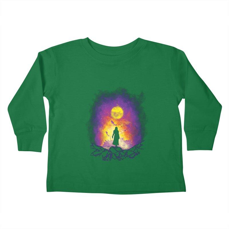 Born Of Fire Kids Toddler Longsleeve T-Shirt by Daletheskater