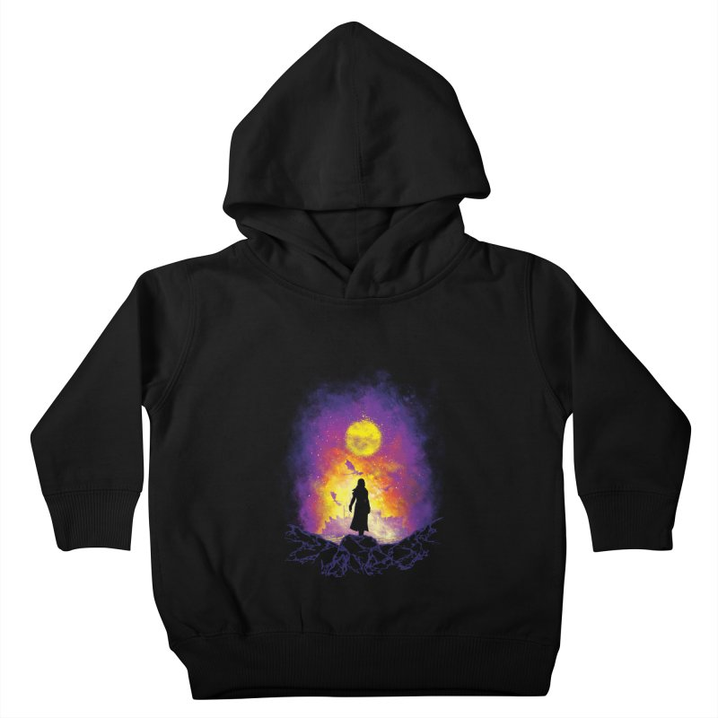 Born Of Fire Kids Toddler Pullover Hoody by Daletheskater