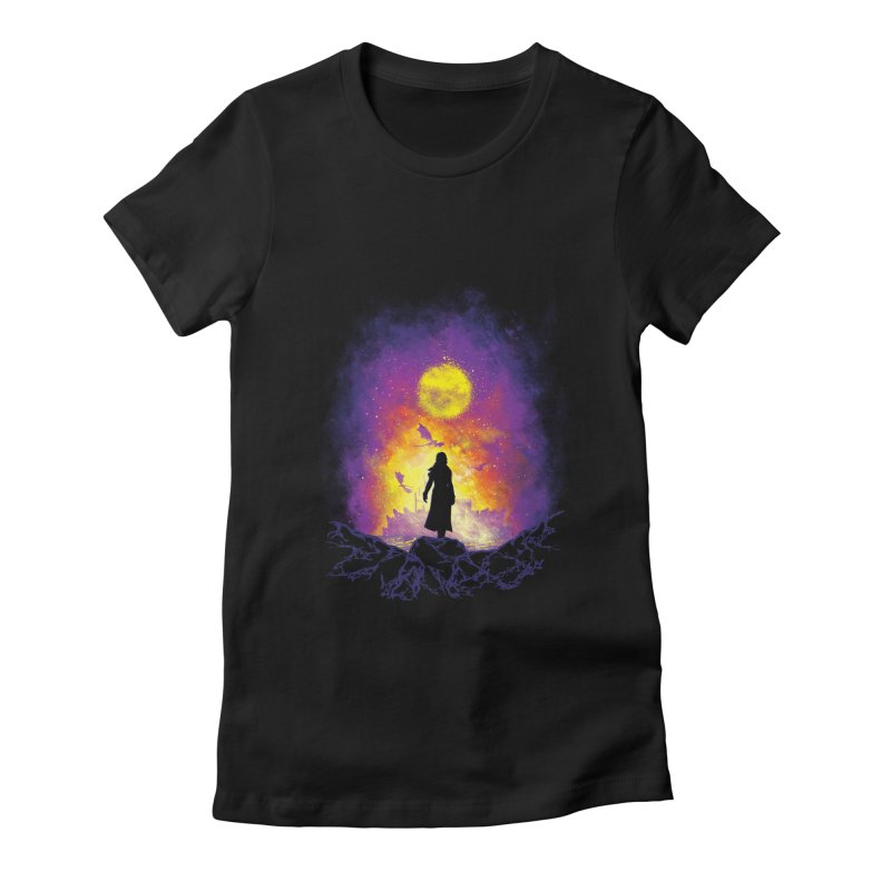 Born Of Fire Women's Fitted T-Shirt by Daletheskater