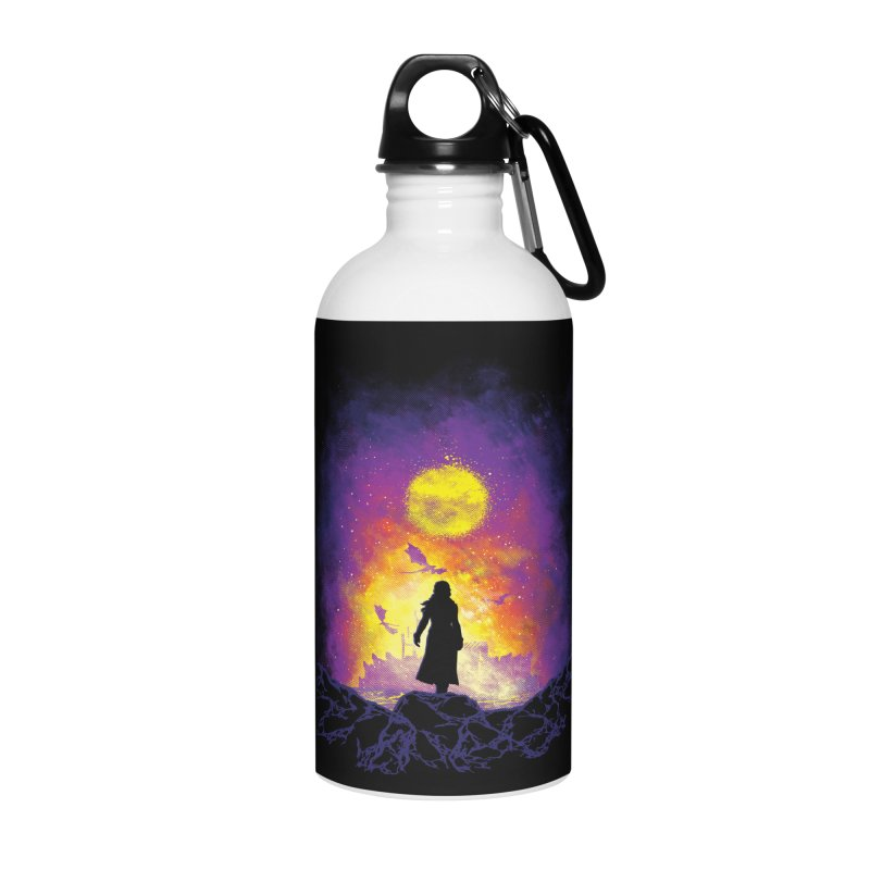 Born Of Fire Accessories Water Bottle by Daletheskater