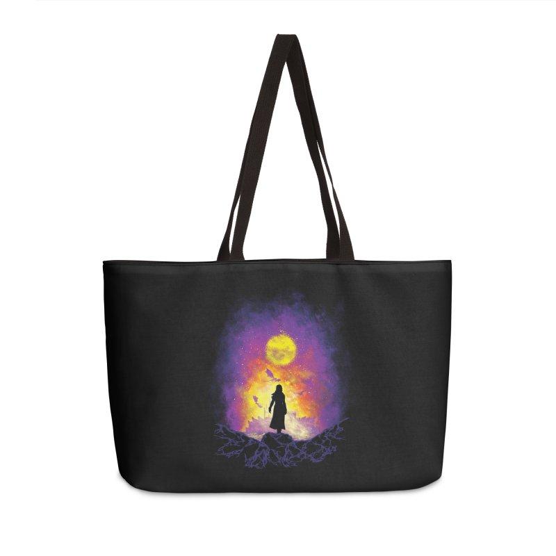 Born Of Fire Accessories Weekender Bag Bag by Daletheskater