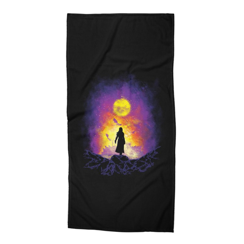Born Of Fire Accessories Beach Towel by Daletheskater