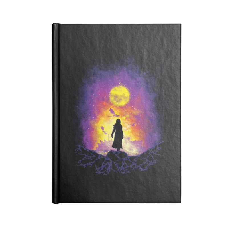 Born Of Fire Accessories Lined Journal Notebook by Daletheskater