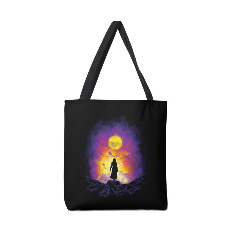 Born Of Fire Accessories Tote Bag Bag by Daletheskater