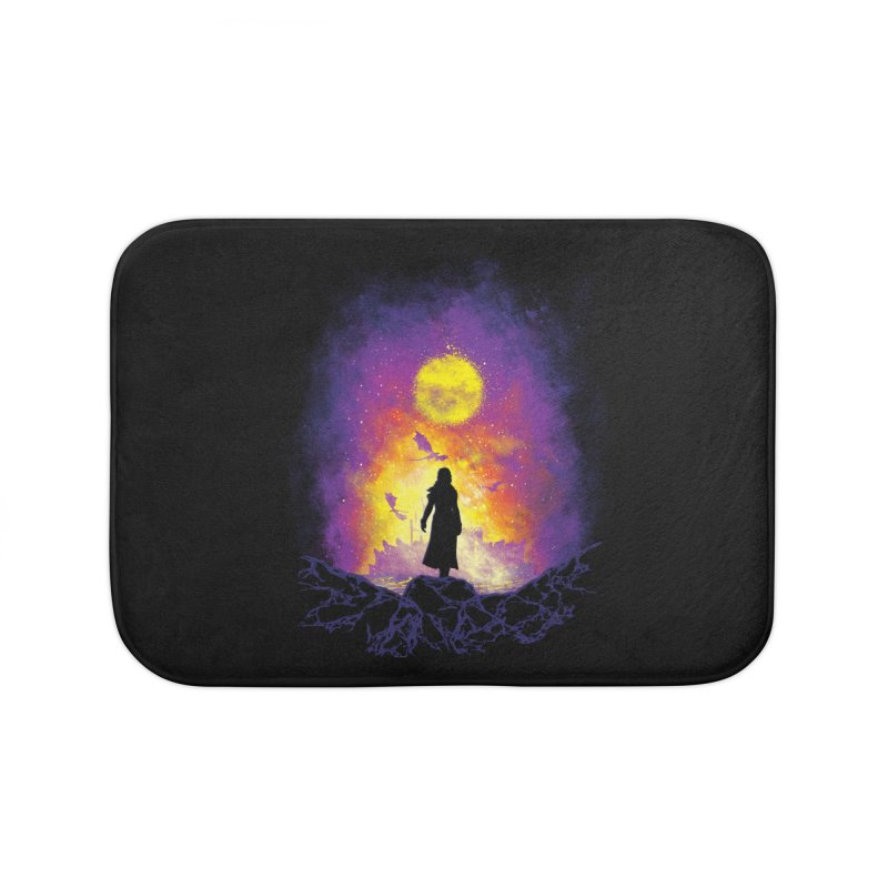 Born Of Fire Home Bath Mat by Daletheskater