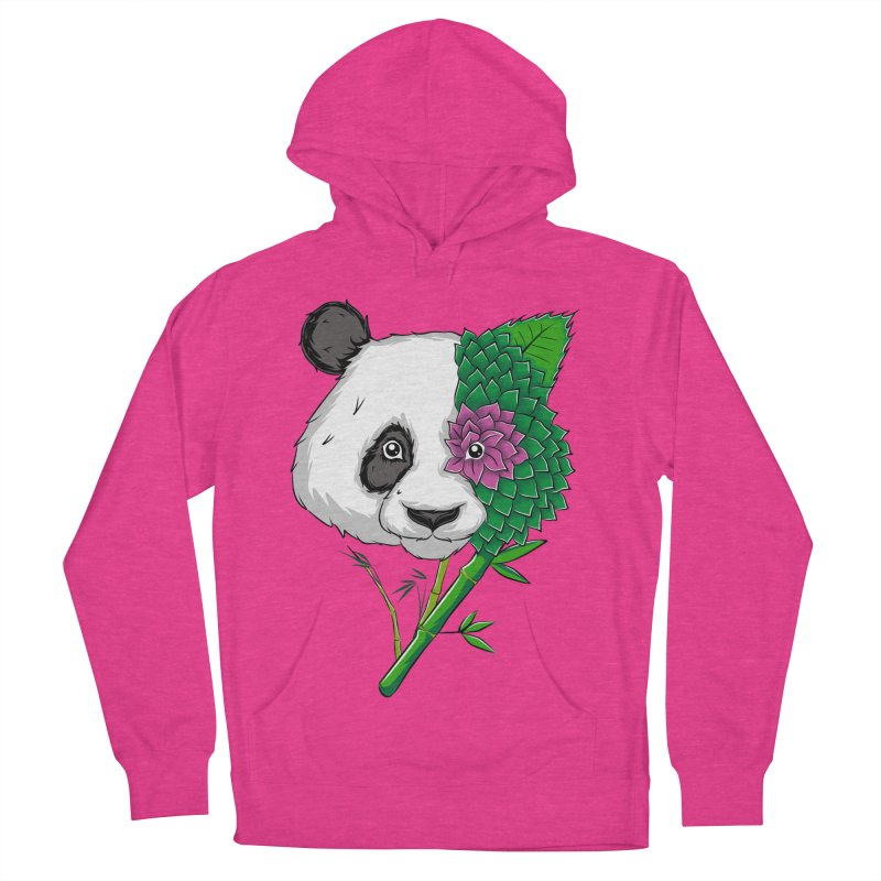 Oso panda -flower Men's Pullover Hoody by damian's Artist Shop