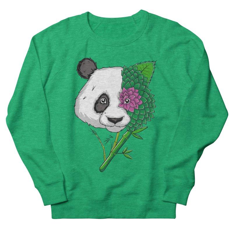 Oso panda -flower Men's Sweatshirt by damian's Artist Shop