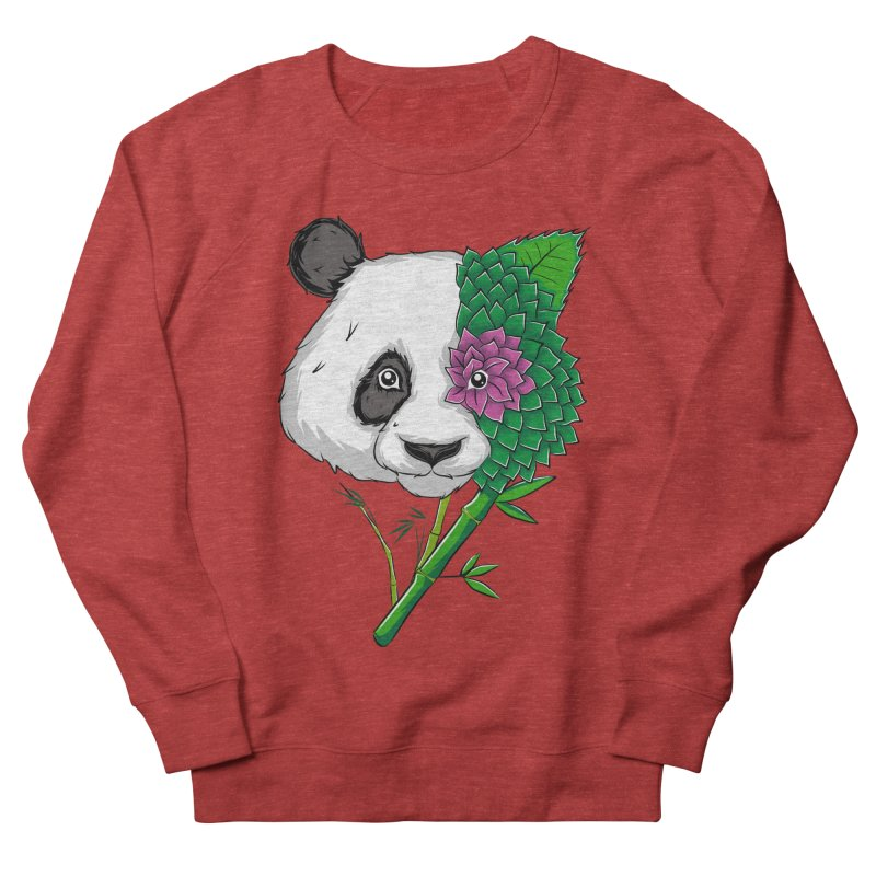 Oso panda -flower Men's Sweatshirt by damian's Artist Shop